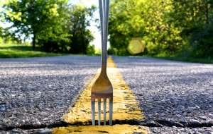 The fork changed my road, literally.